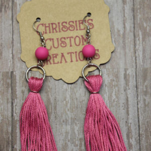 earrings boho bohemian tassel earring